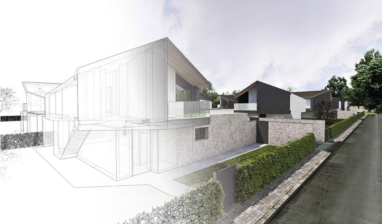 progetto architettura dal pozzo