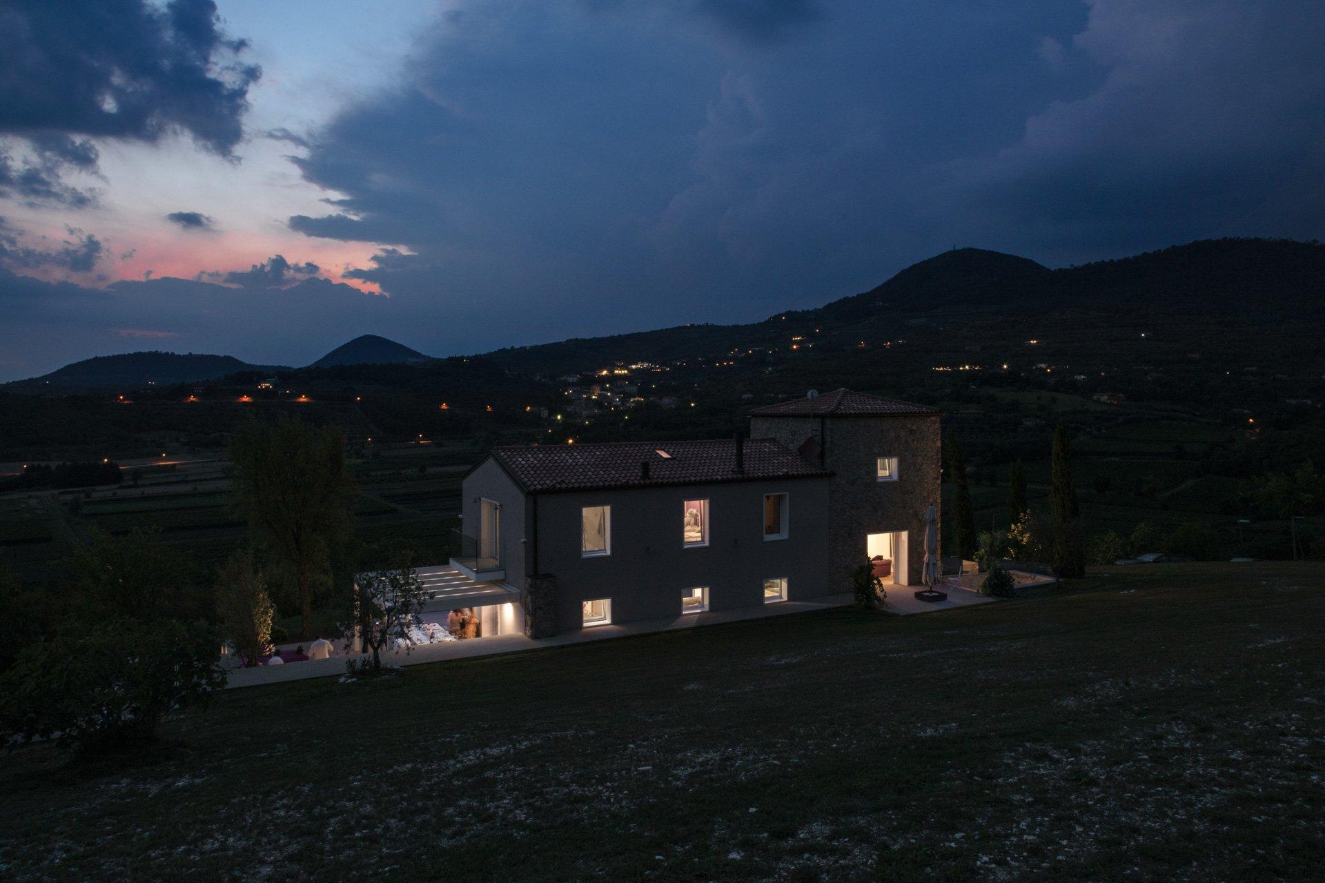 villa sulle colline