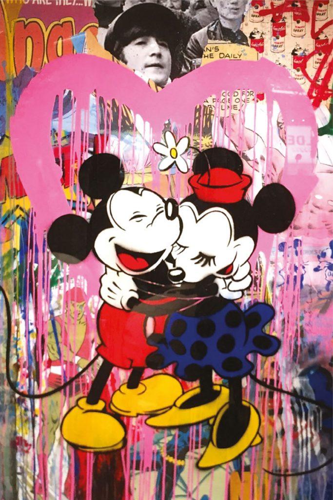 Mickey & Minni, Mr Brainwash